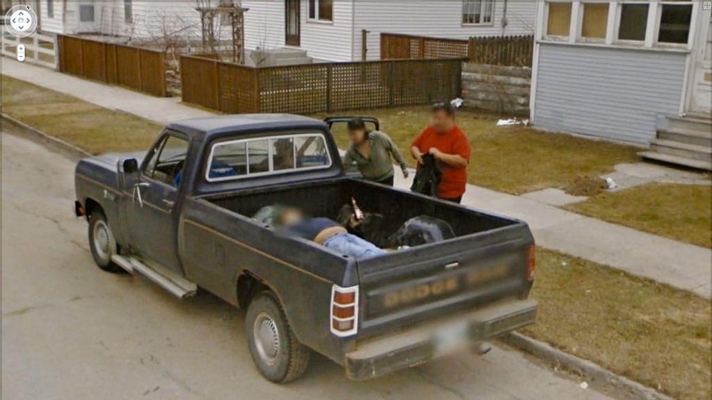 Las imágenes más surrelistas de 'Google Street View'