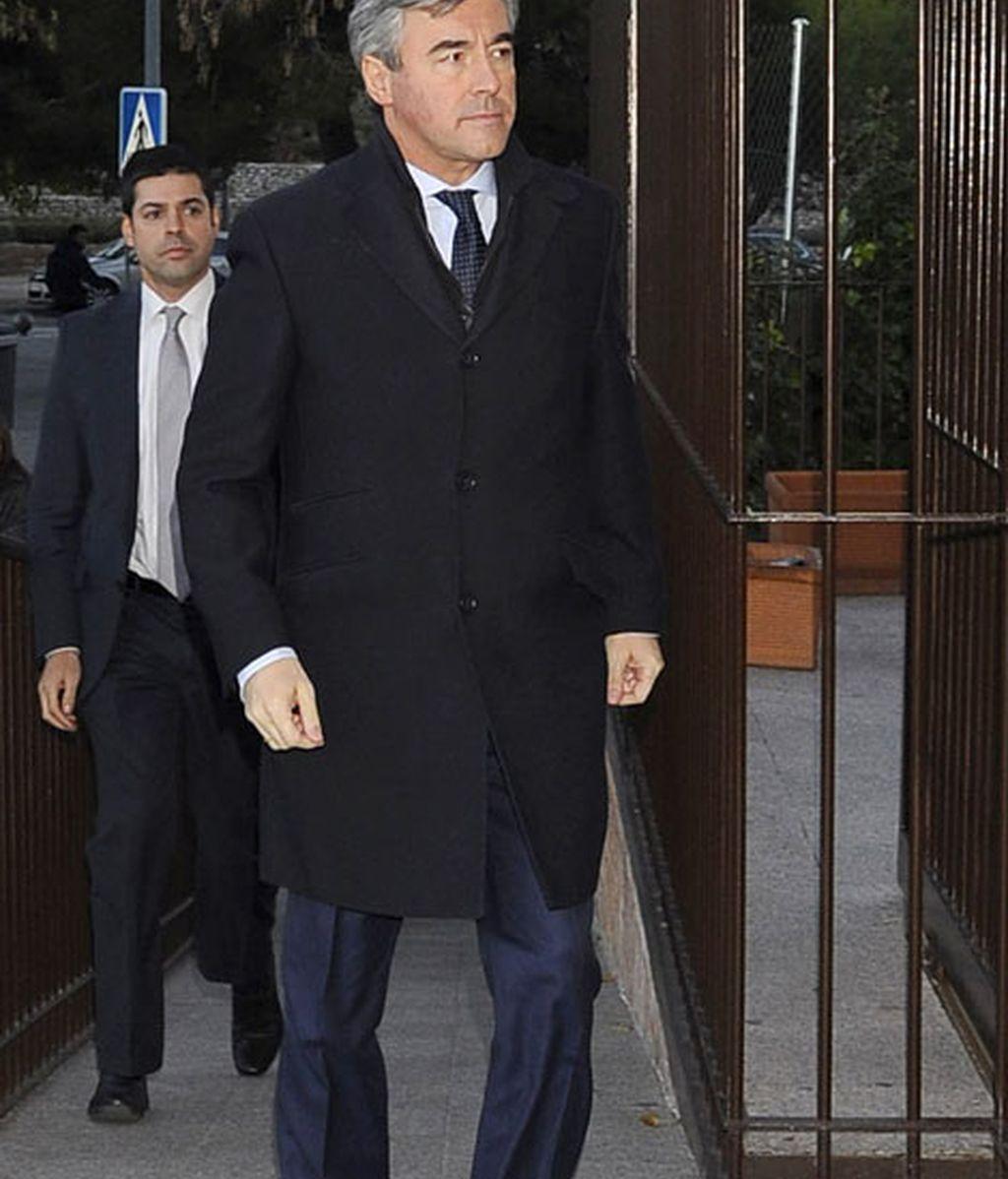 El político Ángel Acebes