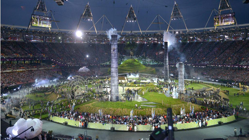 Ceremonia de inauguración de los Juegos Olímpicos de Londres 2012