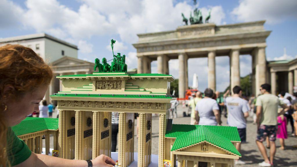 Reproducción de la puerta de Brandeburgo en Alemania