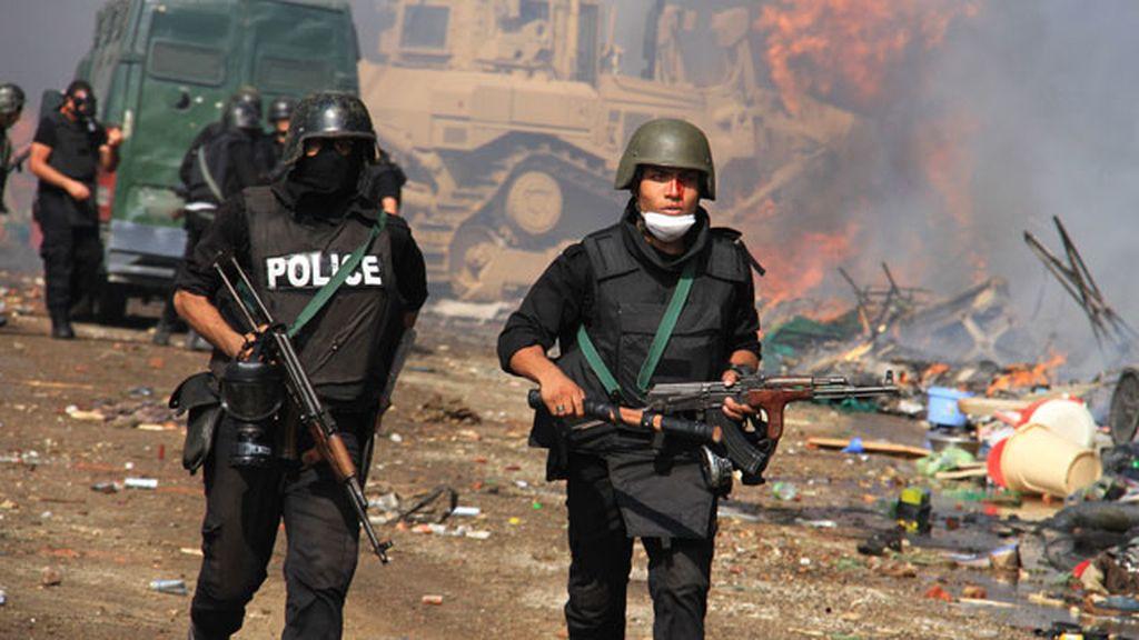 Fuerzas de Seguridad egipcias