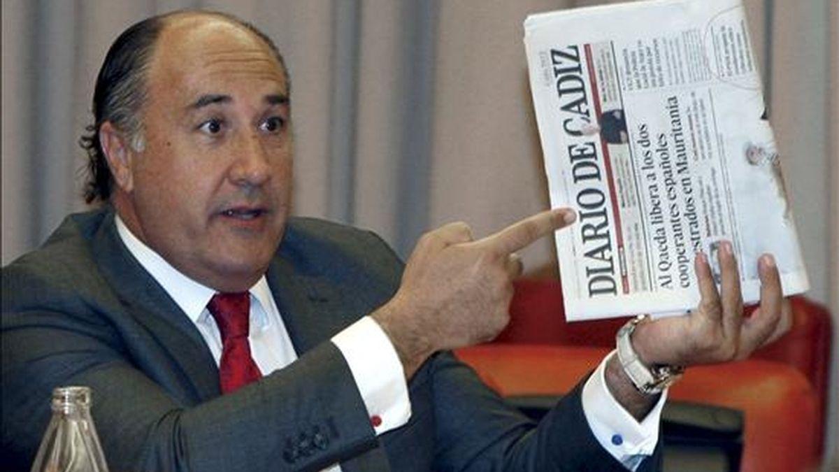 El diputado del Partido Popular José Ignacio Landaluce. EFE/Archivo