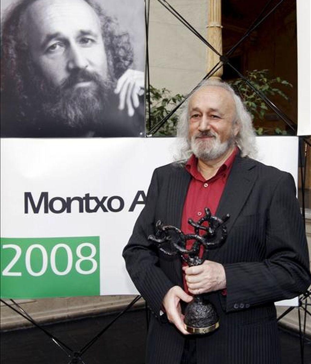 El director de cine navarro Montxo Armendariz. EFE/Archivo