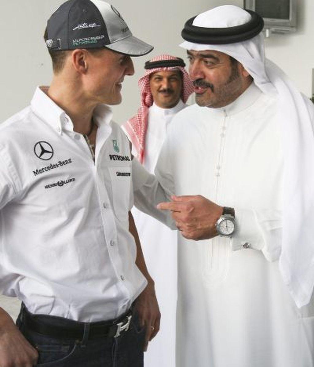 Actos protocolarios previos al Gran Premio