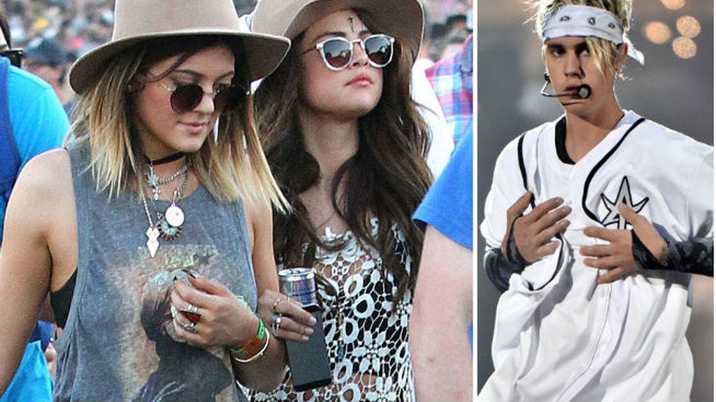 Selena y las hermanas Jenner por el amor de Bieber