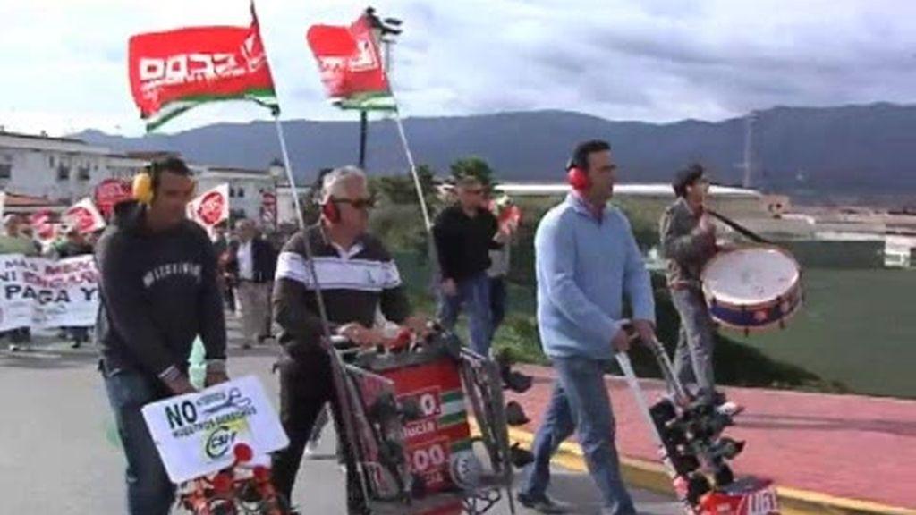 Huelga en Los Barrios