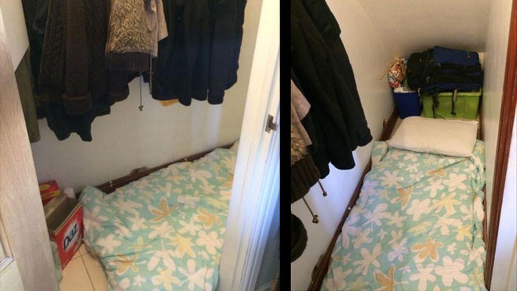 alquiler cutre, alojamiento Londres, un descansillo escalera alquiler,