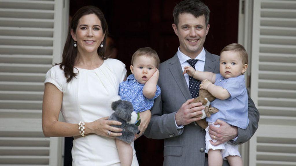Los príncipes de Dinamarca son padres de Christian, Isabella y dos mellizos