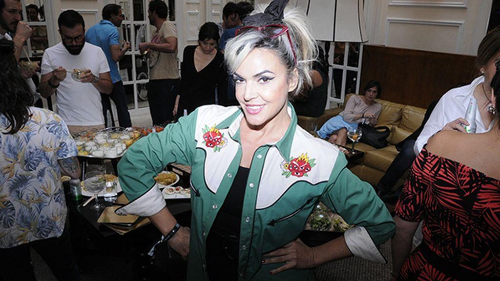 """Silvia Superstar disfrutó de este estupendo brunch en el """"SoHo"""" madrileño"""