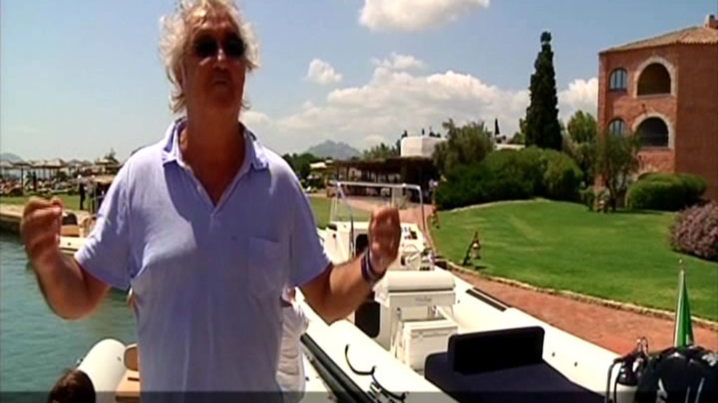El magnate Flavio Briatore