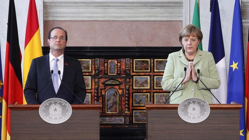Merkel y Hollande