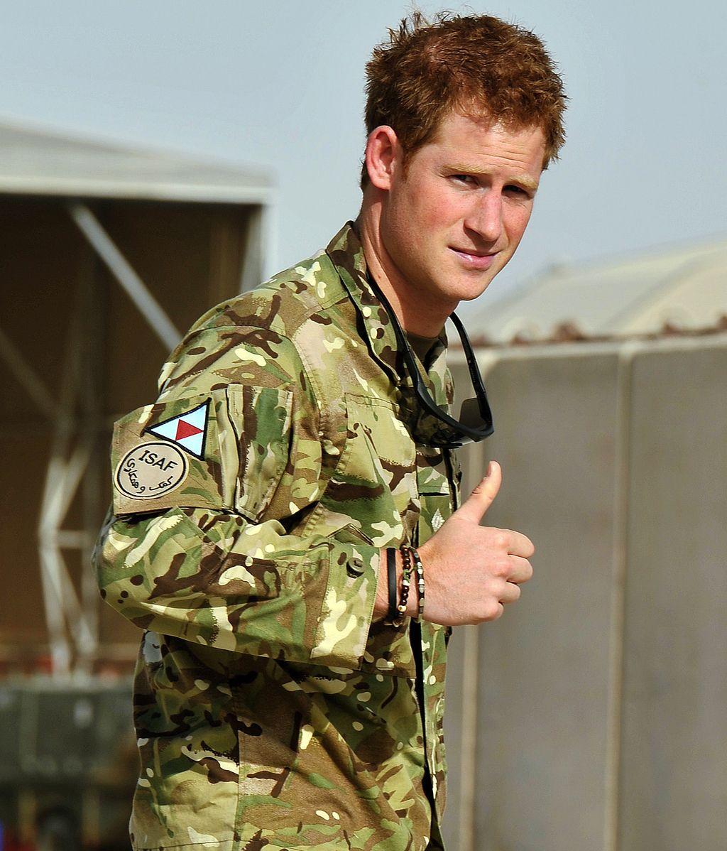 Príncipe Enrique de Inglaterra. Foto: Reuters