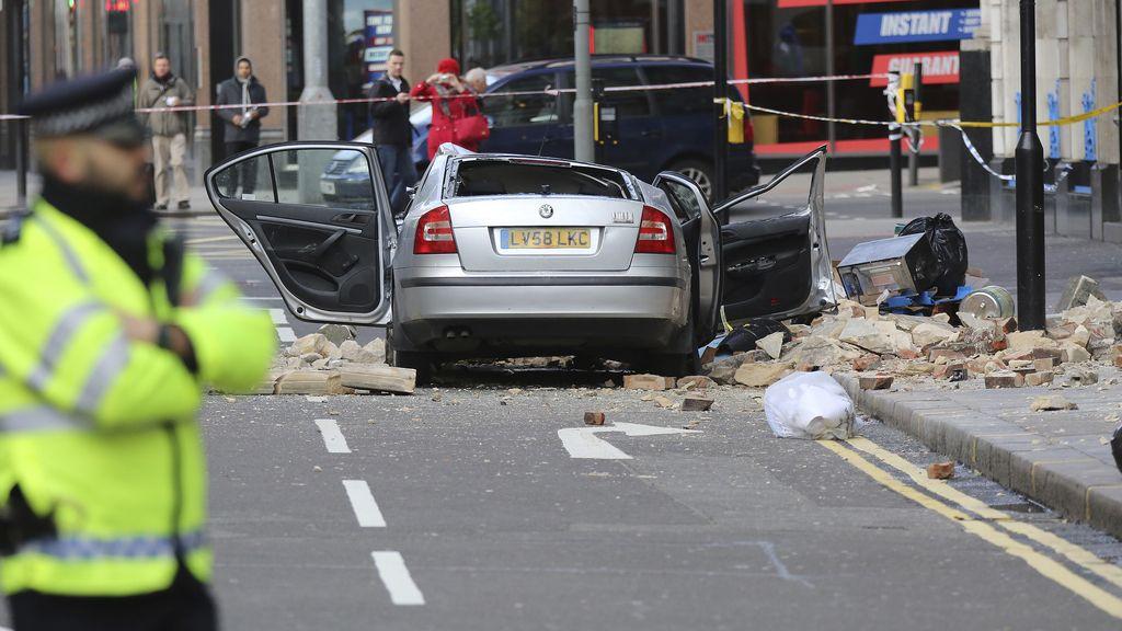 Dos muertos por el azote de las tormentas en Inglaterra