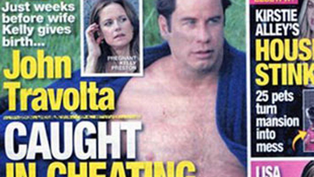 Un diario estadounidense señala que John Travolta es infiel a su mujer.