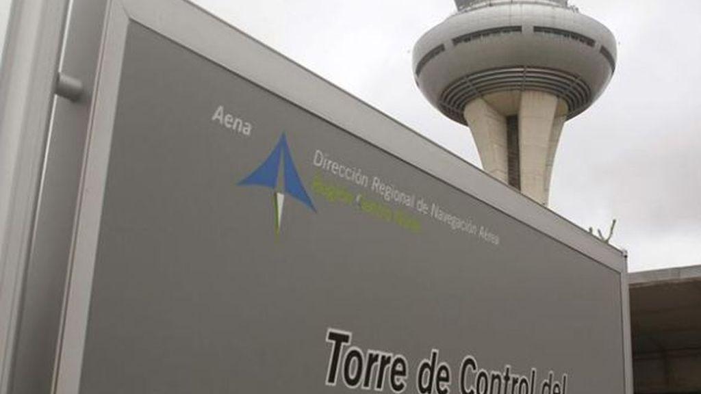 Torre de control del aeropuerto de Madrid