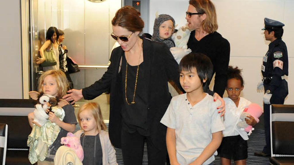 Shiloh, Vivienne, Pax, Knox, y Zahara, los hijos de Angelina Jolie y Brad Pitt
