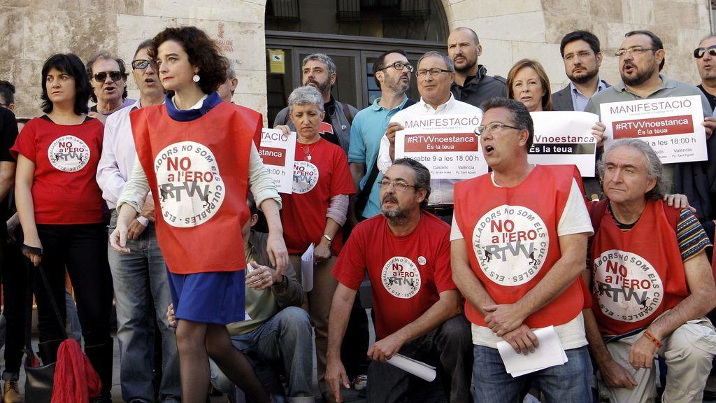 Trabajadores de RTVV convocan a la ciudadanía a manifestarse