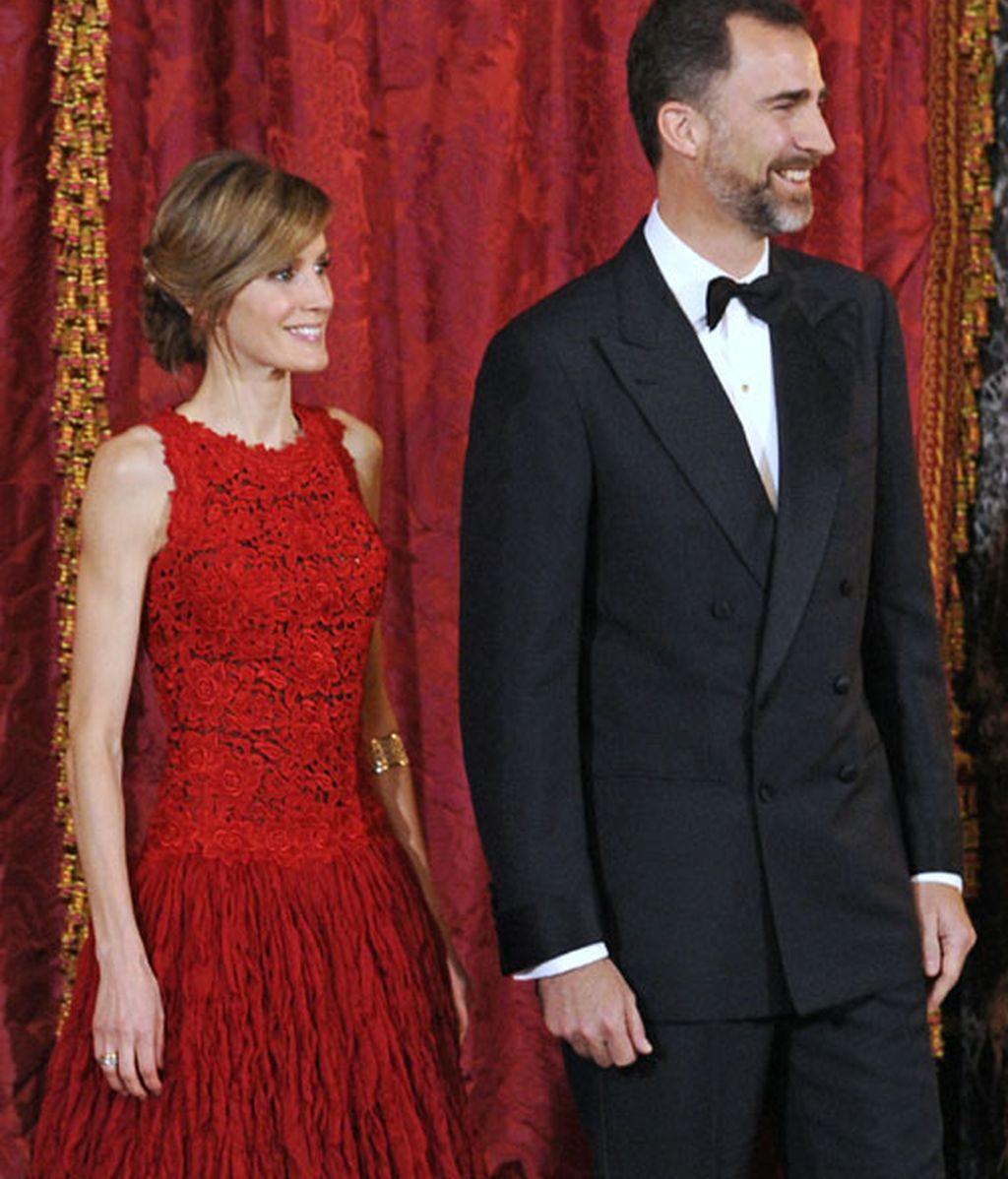 Los Príncipes, Felipe y Letizia