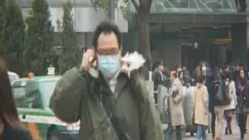 Las partículas llegan a Tokio