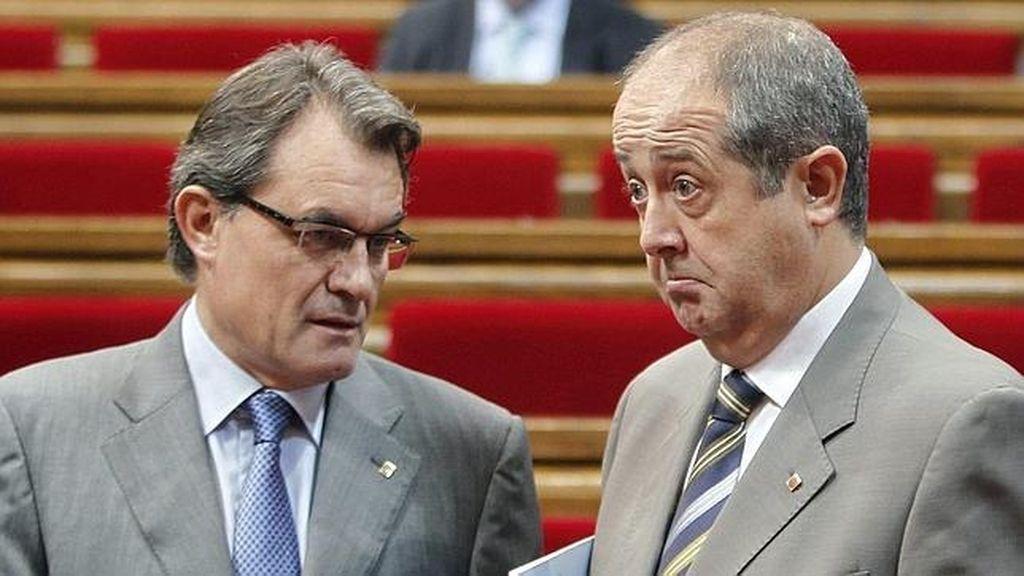 Artur Mas y Felip Puig