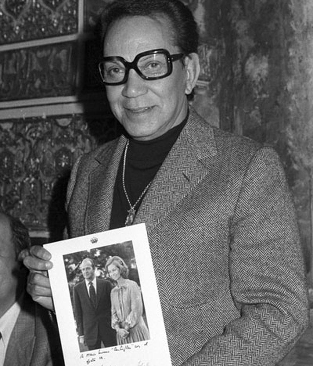 El actor recibió el premio 'Garbanzo de plata' en 1983