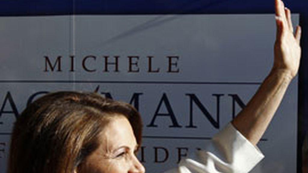 Bachmann gana en una consulta del Partido Republicano. Foto: Reuters