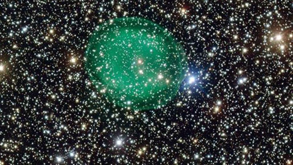 La mejor imagen de la nebulosa planetaria que rodea una estrella moribunda