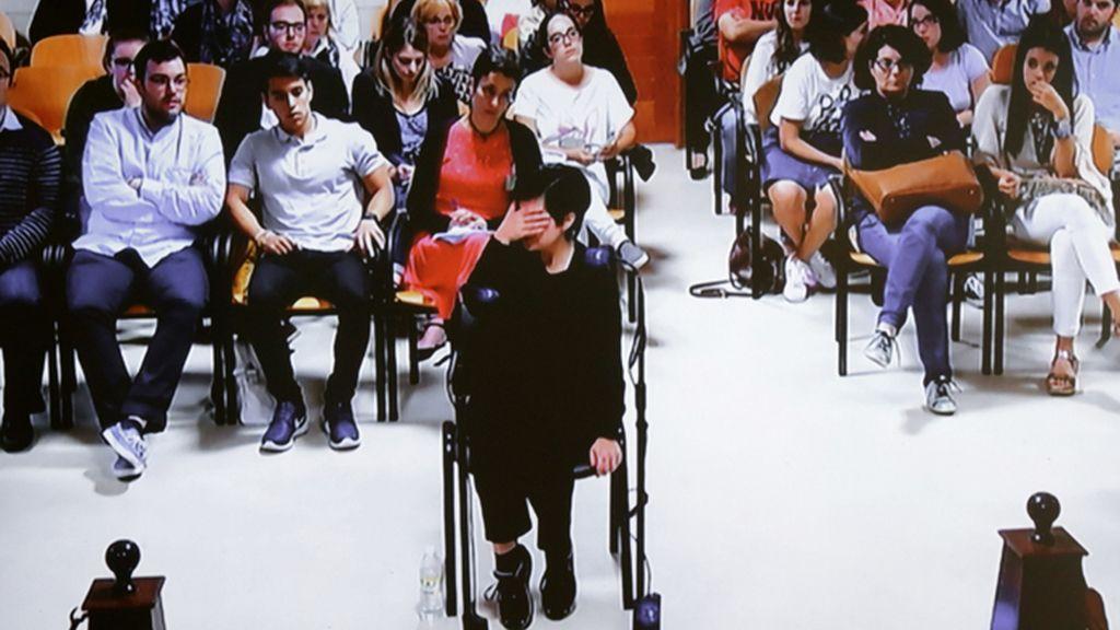 Rosario Porto en el juicio por el crimen de Asunta Basterra