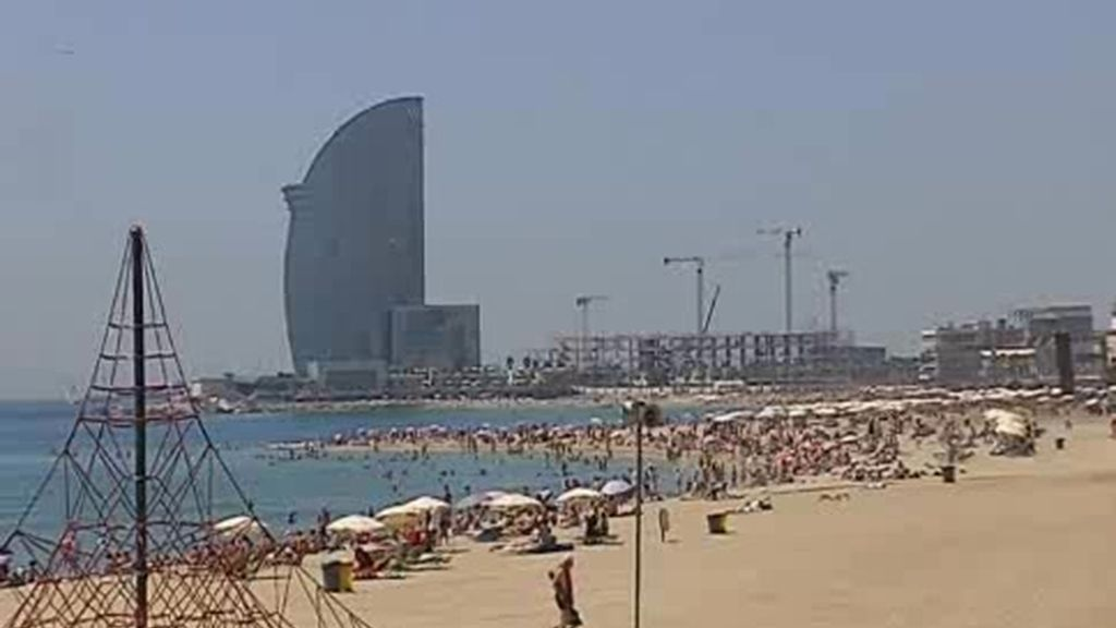 Bandera negra para la Barceloneta