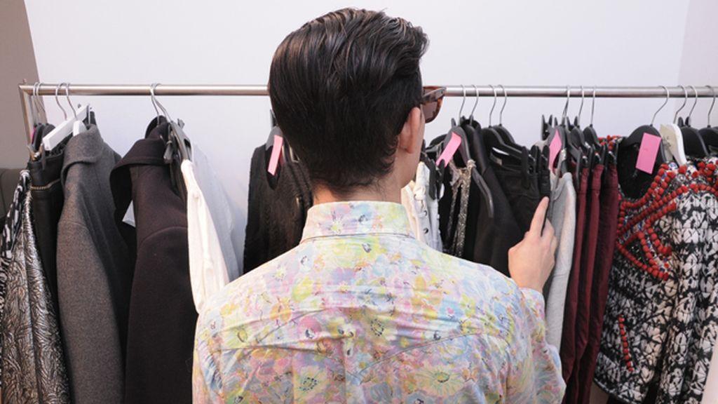 En el showroom de H&M pudimos ver las prendas que las celebrities lucirán en la fiesta de presentación de su nueva colección