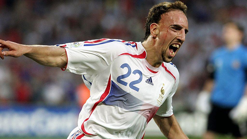 Franck Ribery: 'Scarface'
