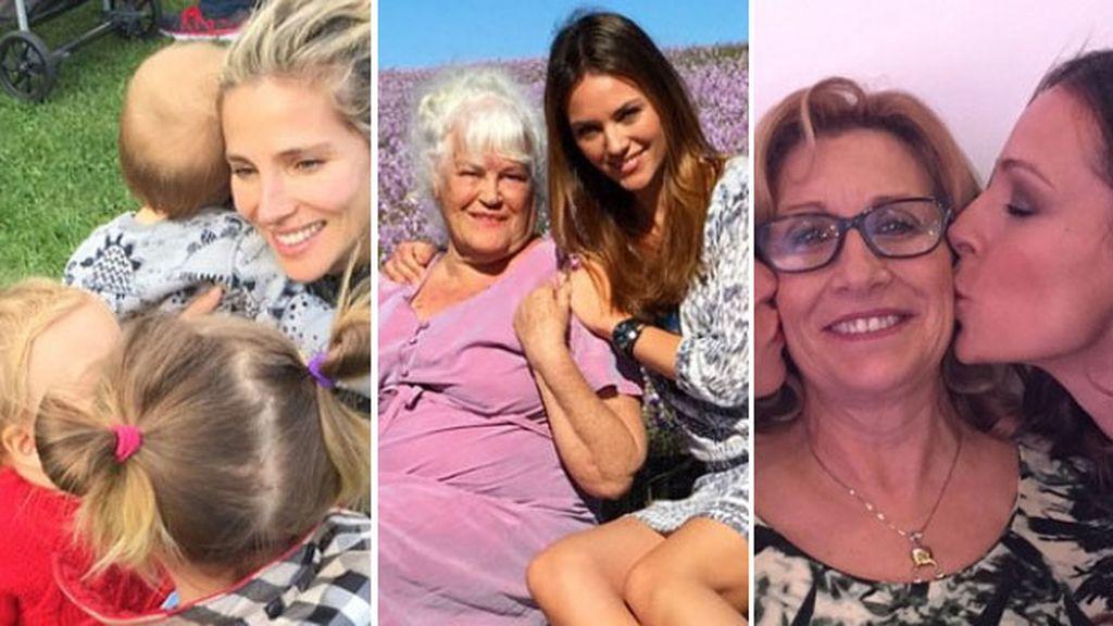 Paula Echevarría o Cristina Pedroche también han hecho sus mami-felicitaciones