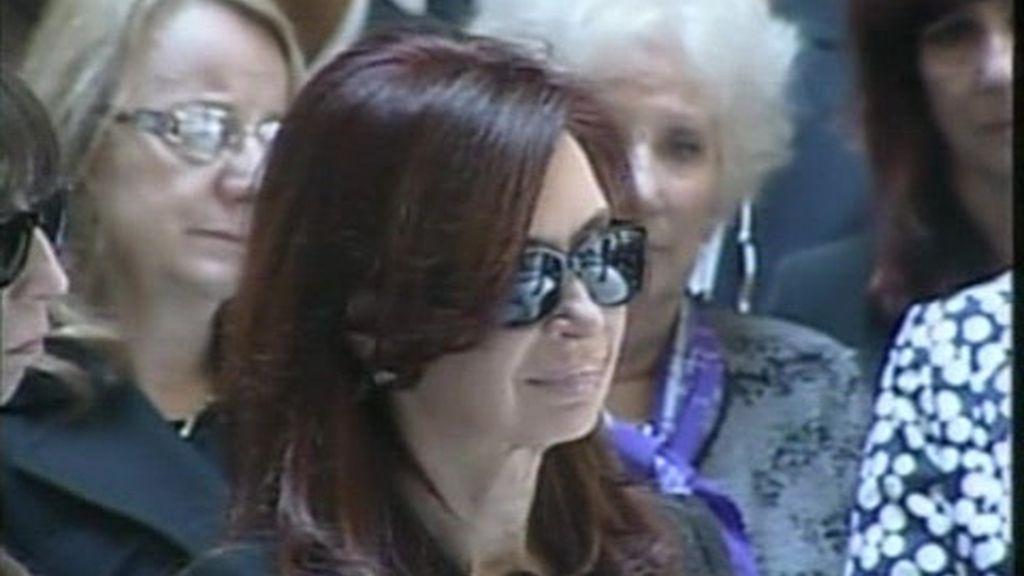 Argentina despide a Néstor Kirchner