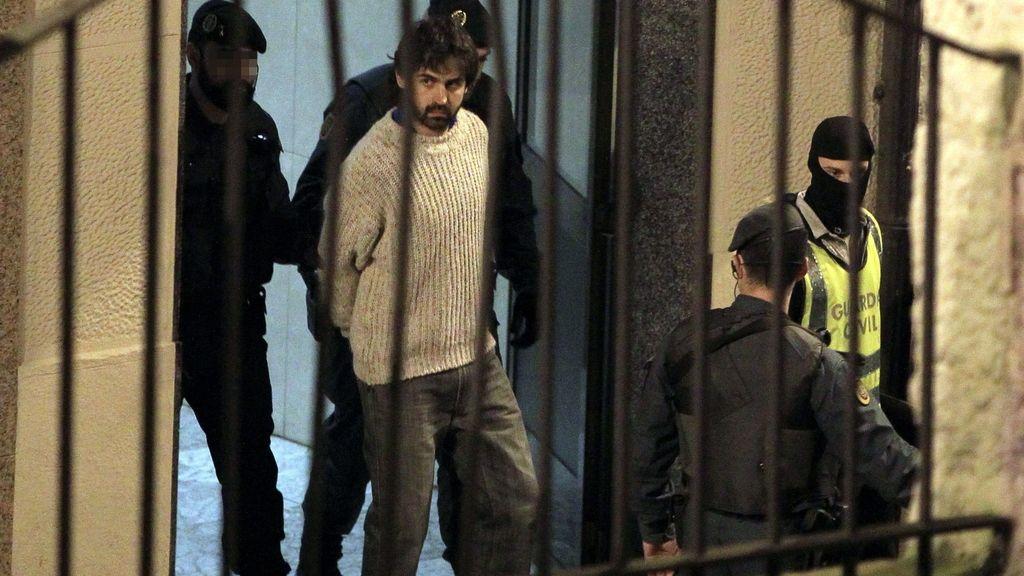 Detenido colaborador del comando Vizcaya