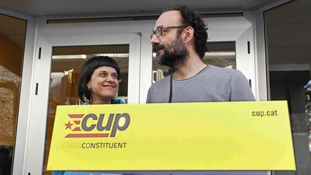 La CUP, satisfecha