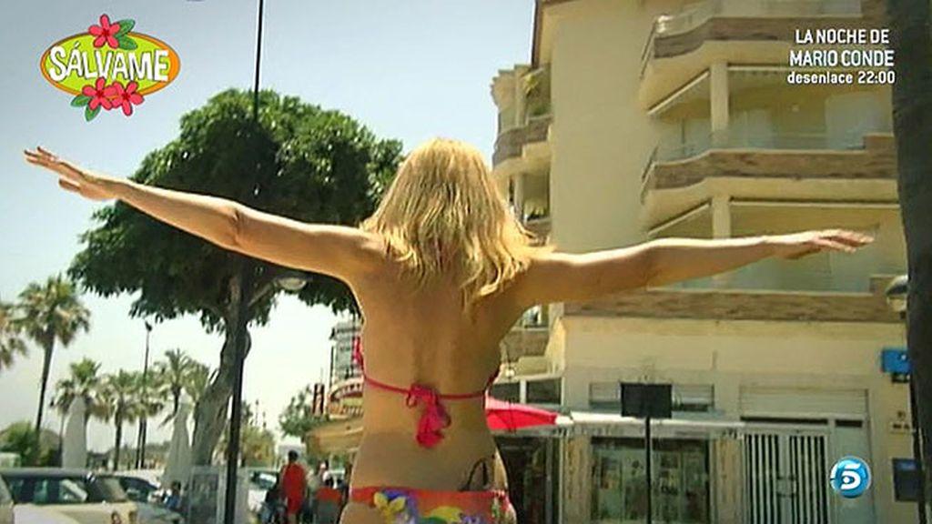 Olvido Hormigos recorre la geografía española en busca del mejor cuerpo