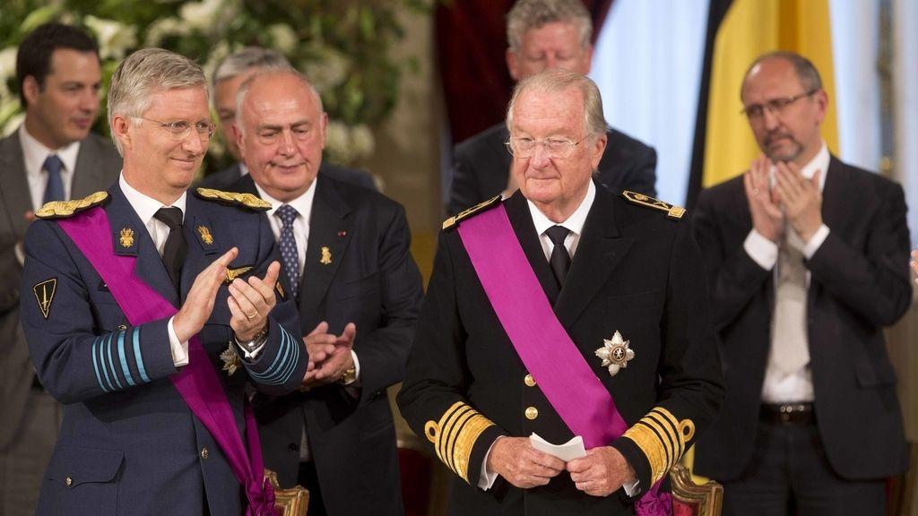 Coronación Felipe I de Bélgica
