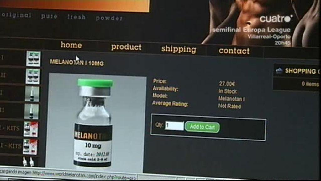 Medicamentos ilegales de moda