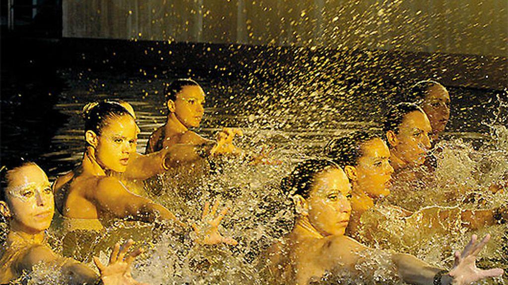 Equipo español de natación sincronizada (2008 y 2009)