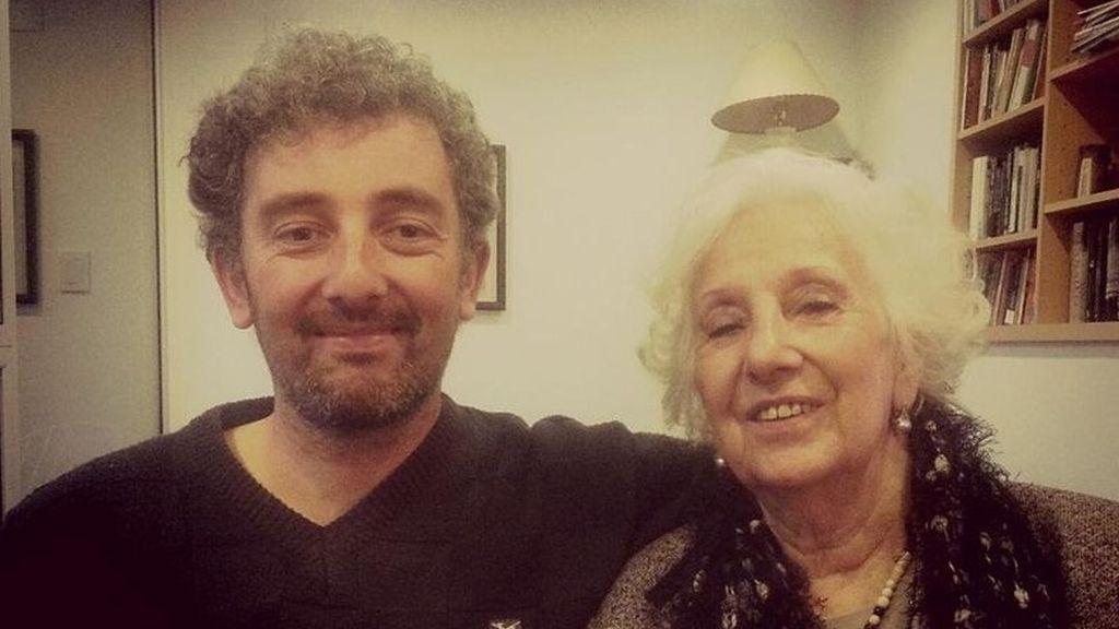 Se encuentran Ignacio Hurban y Estela de Carlotto