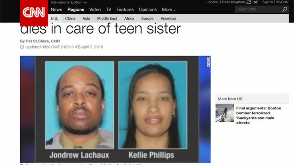 Descubren el cadáver de una menor de 3 años tras detener a su hermana de 17