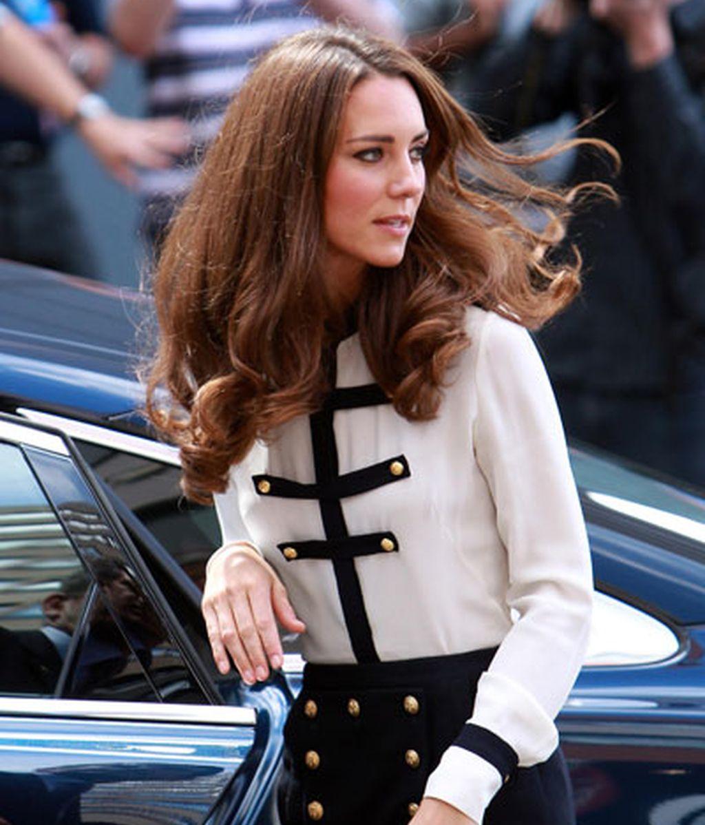 La duquesa, con un modelo de Alexander McQueen
