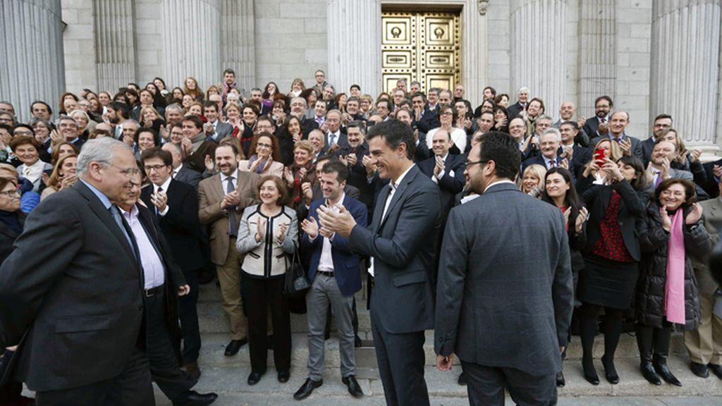 Alfonso Guerra se despide del Congreso de los Diputados