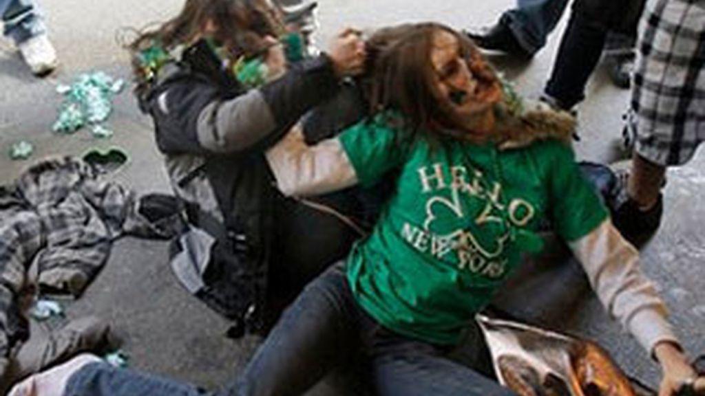 La violencia entre mujeres ha de denominarse violencia doméstica. Foto: AP.