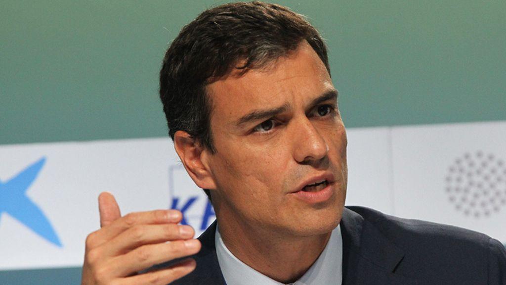 Sánchez reprocha a Rajoy ser el mayor factor de inestabilidad en España