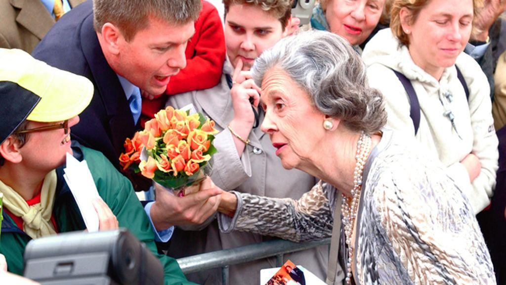 La reina española de los belgas