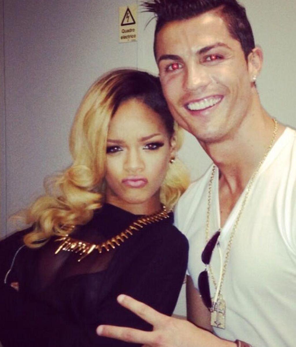 Rihanna y Cristiano Ronaldo