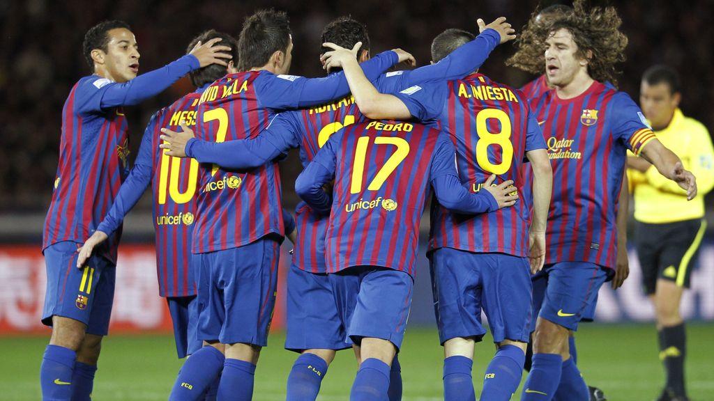 El Barça, en la final del Mundialito
