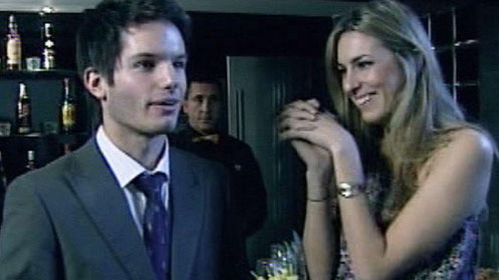 Eduardo y Paula en el brunch