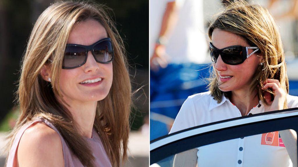 De espejo, aviador, deportivas... las lentes de una reina